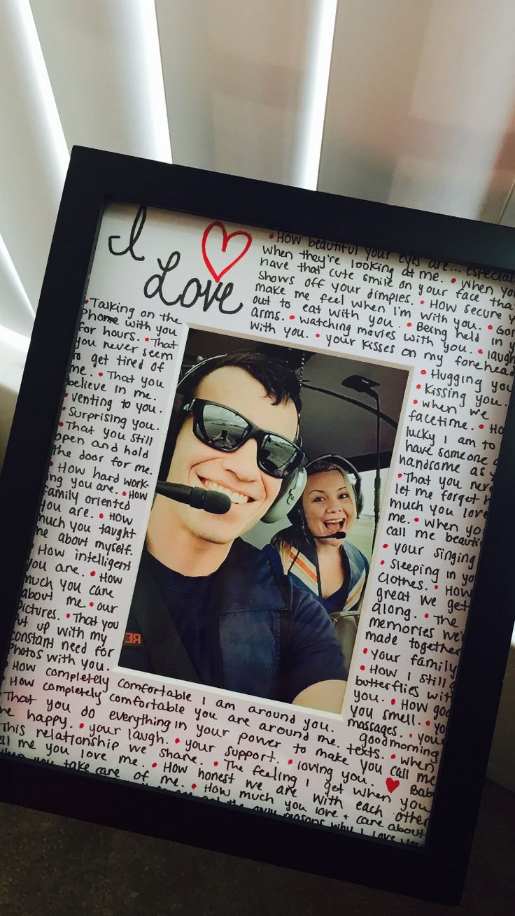 Reasons why I love you photo frame