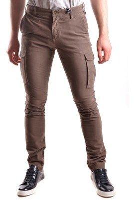 At.P.Co At.p.co Men's Brown Cotton Pants.
