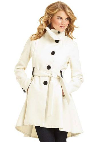 Coats like these are the only reason for winter...: Madden Princesses, Cute Coats, Dreams Closet, Clothing, White Coats, Princesses Coats, Steve Madden, Trench Coats, Winter Coats