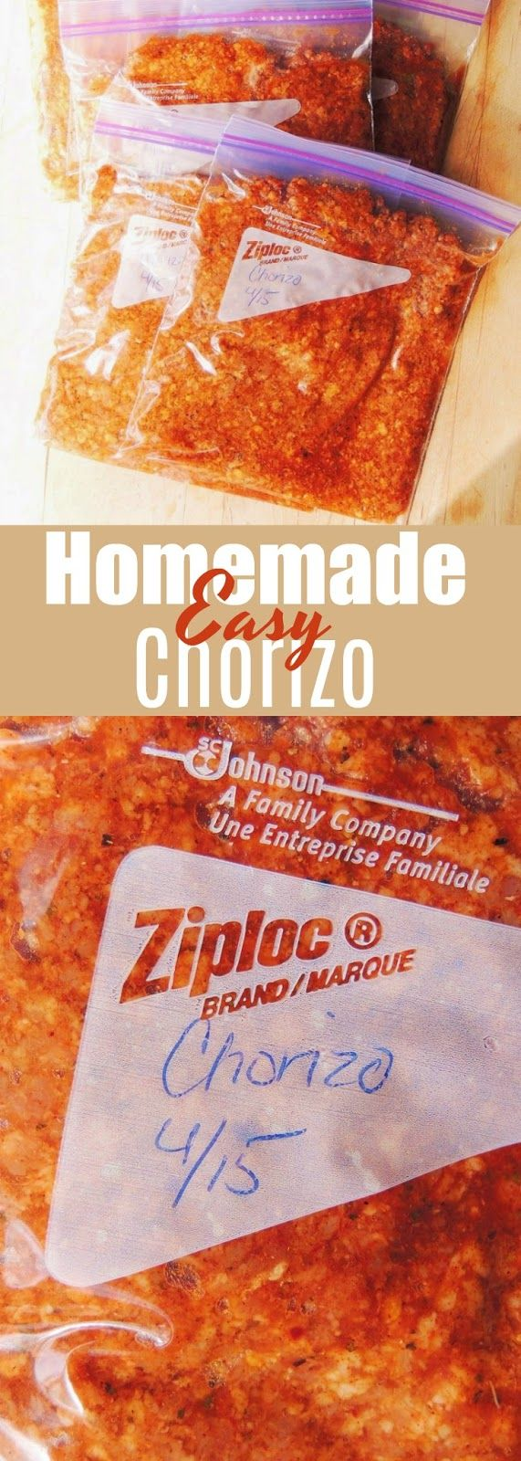 Healthy Homemade Chorizo - Authentic tasting homemade chorizo is simple to make, and much healthier than the commercially prepared kind! From www.bobbiskozykitchen.com