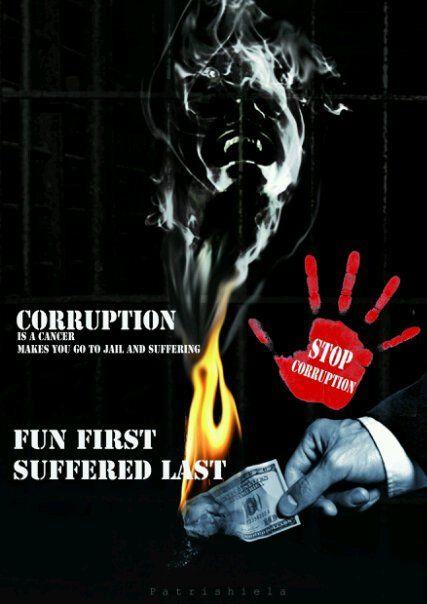 Anti-Corruption poster campaign. #2010