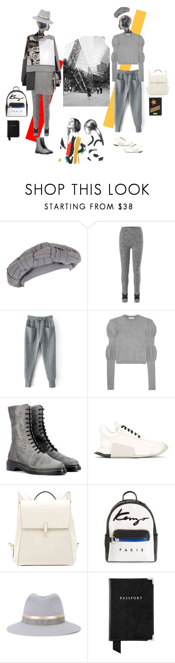"""""""Fly to Oslo"""" by ladyarchitect ❤ liked on Polyvore featuring Christian Dior, Beyond Yoga, Adeam, The Row, adidas, Valextra, Kenzo, Maison Michel, Aspinal of London and Henri Bendel"""