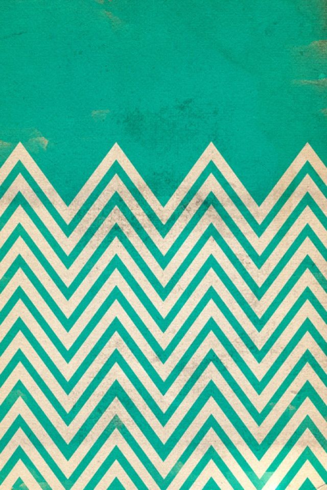 Fun zigzag wallpaper iphone backgrounds pinterest for Teal chevron wallpaper