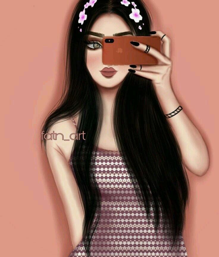 رمزيات بنات منوعه صور بنات جيرلي In 2021 Beautiful Girl Drawing Girly M Cute Girl Drawing