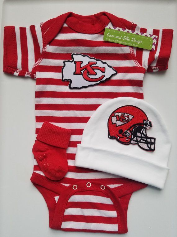 innovative design c35ae 39bd1 Kansas City Chiefs baby outfit/chiefs baby boy/kansas city ...