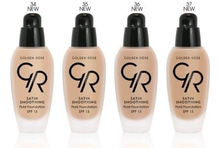 Golden Rose Fluid Foundation - additional shades