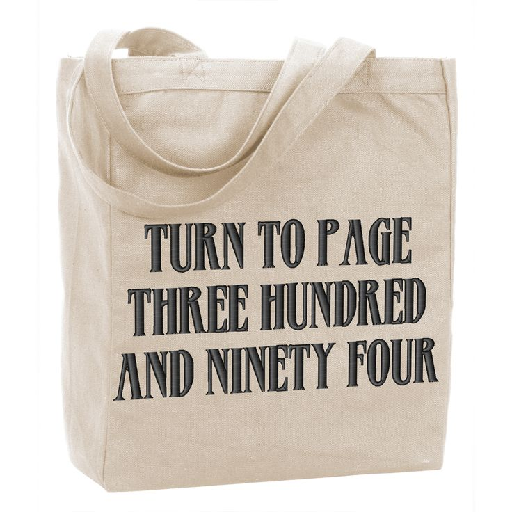 Turn to Page 394 Tote $14.95 #harrypotterfan #tote #popicon