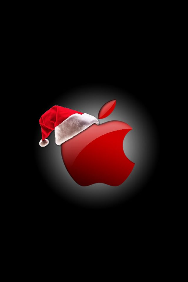Merry Christmas iPhone apple | Wallpapers | Pinterest | Merry