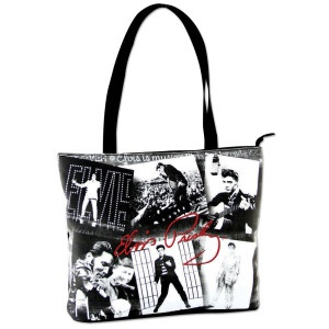 Elvis Black & White Collage Tote I have this one!