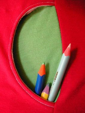 Once you learn to make these pockets, you'll always have a place for your bits and bobs!