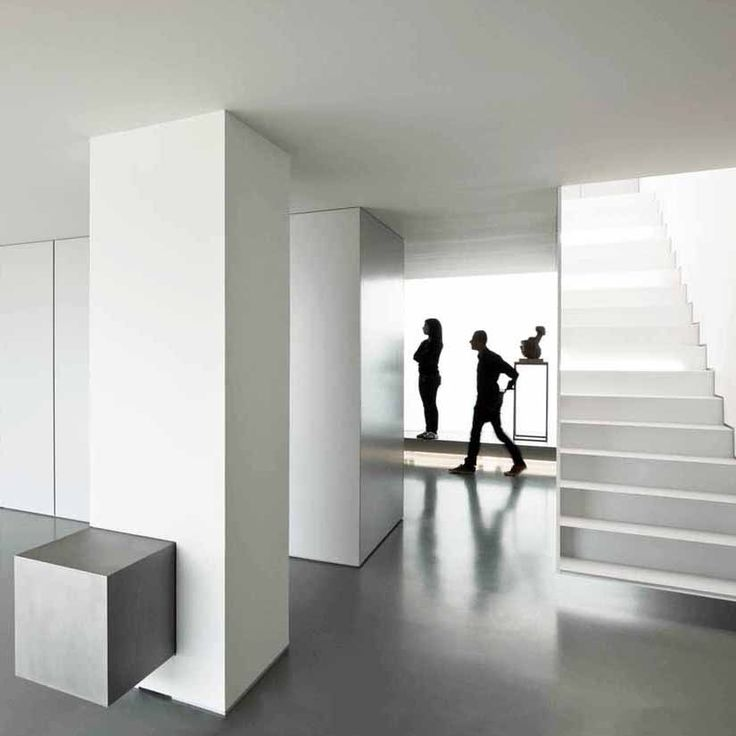 House with a 'white cube' gallery look