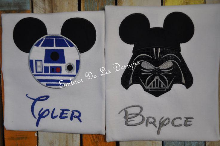 R2D2-Star Wars-StarWars Shirt-Star Wars R2D2 Onesie-Star Wars Embroidery Applique-Star Wars Disney Shirt! by EmbroiDeLisDesigns on Etsy https://www.etsy.com/listing/225336057/r2d2-star-wars-starwars-shirt-star-wars