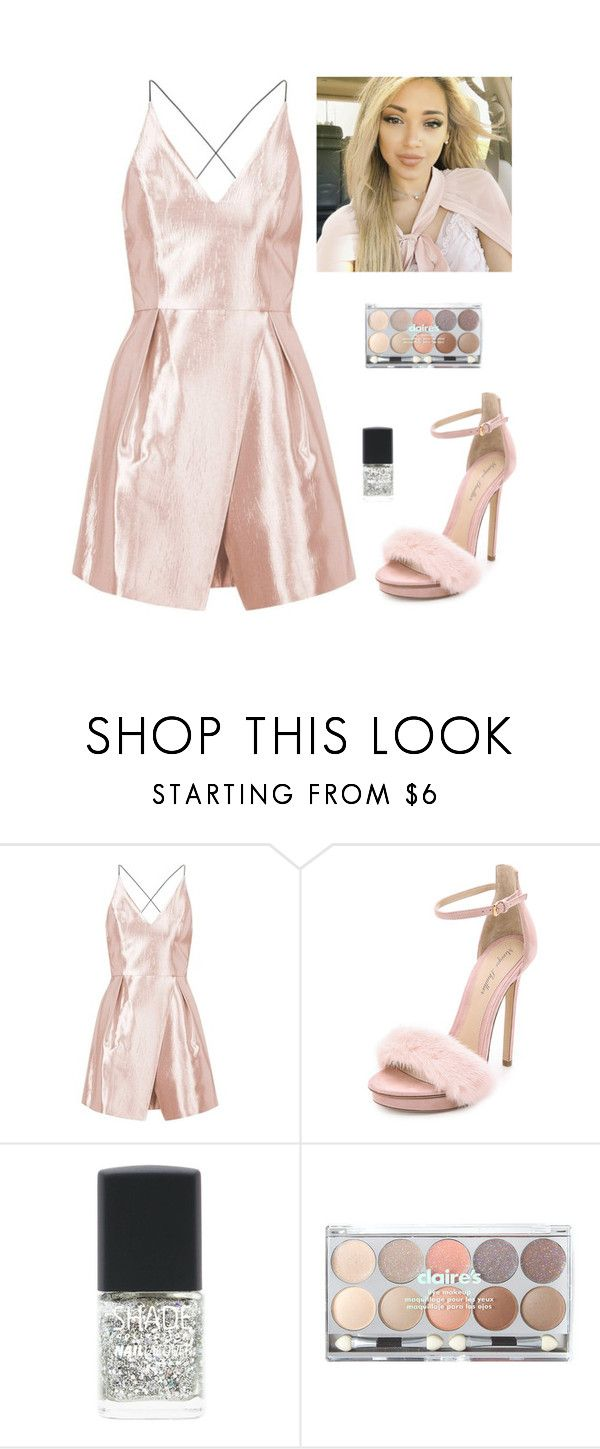 """""""Gabi demartino"""" by faanciella ❤ liked on Polyvore featuring Topshop, Monique Lhuillier, Lane Bryant, claire's and gabidemartino"""