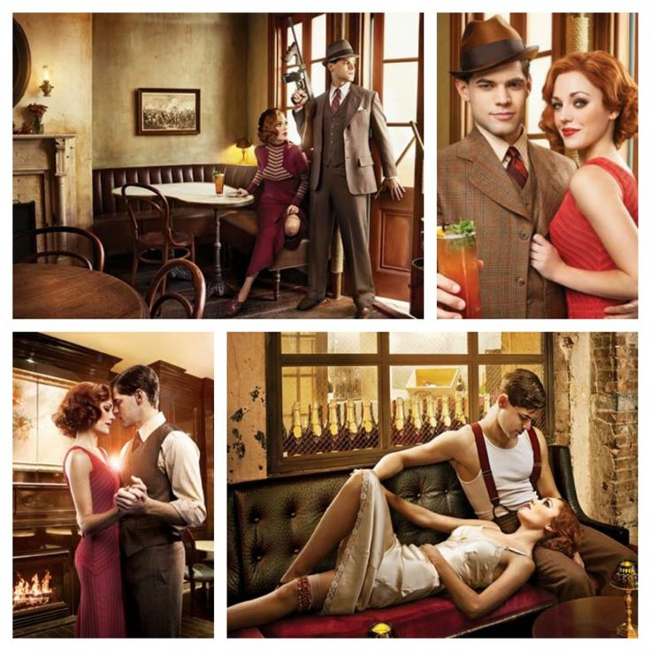 Jeremy Jordan and Laura Osnes in Bonnie & Clyde: Broadway