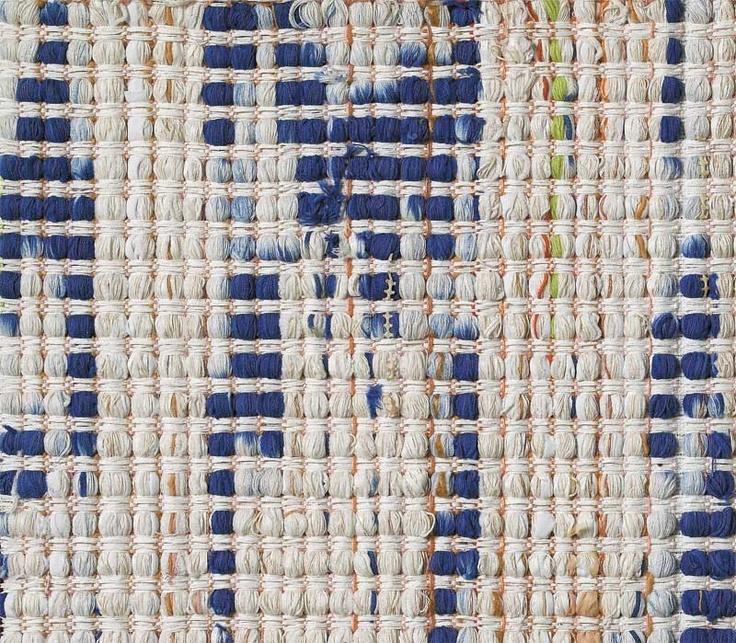 Ane Henriksen | detail: Gul & Blå: Yellow & Blue | 185 cm x 245 cm |  Copenhagen, Denmark | 2003