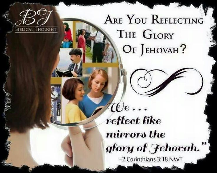 Follow in the image and footsteps of the One True God, Jehovah.