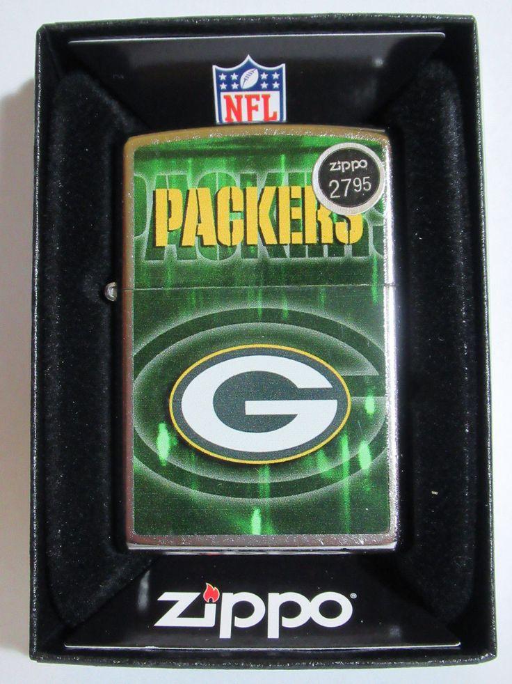NIB Zippo Lighter Windproof NFL Green Bay Packers 28602 - $27.95 #2887