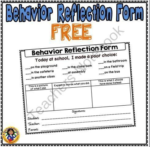 reflective essay behaviour management