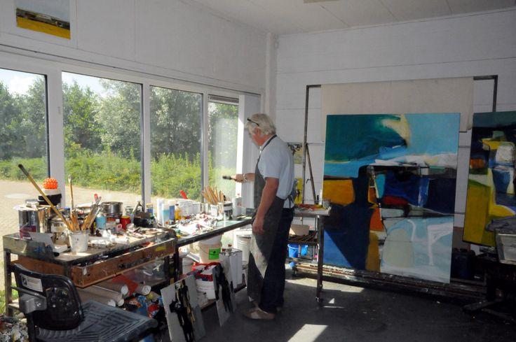 Atelier - een werkplaats voor beeldeend kunstenaars
