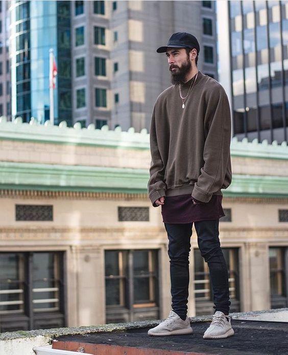 Macho Moda - Blog de Moda Masculina: Oversized Masculino na parte de cima do Look, em alta!