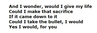 For You from Act of Valor via keith urban