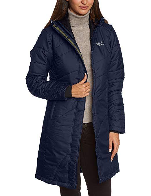 2113299f58ec Jack Wolfskin Damen Mantel Nova Iceguard, night blue, XS, - Winter Outfits  Frauen Schnee Mode wintermode kalt kaufen geschenki…