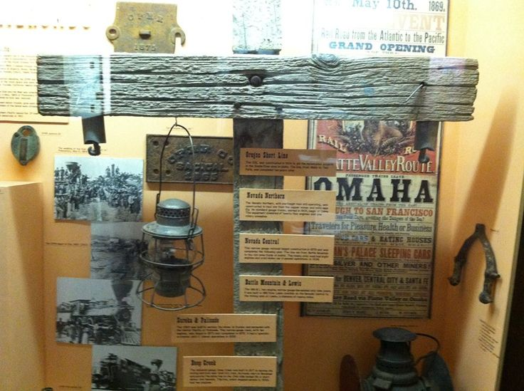 The railroads of Northeastern Nevada brought in supporting businesses, workers and supplies while taking out the riches dug from the mines. The Railroads exhibit in the History Gallery shows the railroads that prospered in the past and the ones that have survived to the present day. #nnm #historygallery