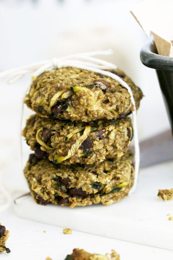 Chocolate Chip Zucchini Bread Cookies (gluten-free & vegan) via ...
