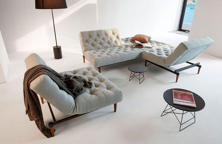 Oldschool bäddsoffa, smidigare blir det inte! En soffa som kombinerar både design, funktionalitet och stil som bildar en suverän möbel. Dansk design av Per Weiss.
