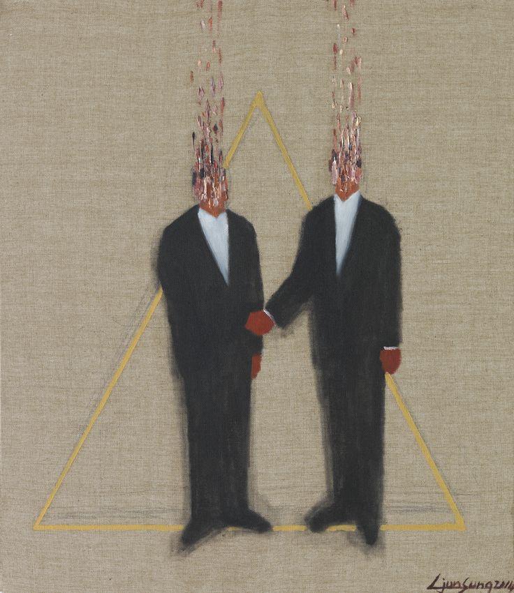 우아한 세계_53.0 x 45.5_oil on canvas 2014 (sold out)