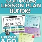 Want computer lab lessons that meet your kindergartners needs? Need standards-based activities for students to complete using the computer?  Now yo...