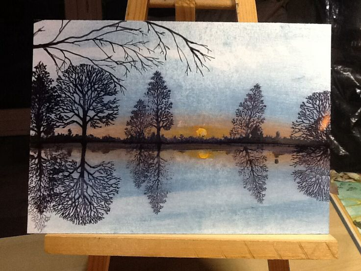 Inspired by Mark Kent!  Clarity Trees.