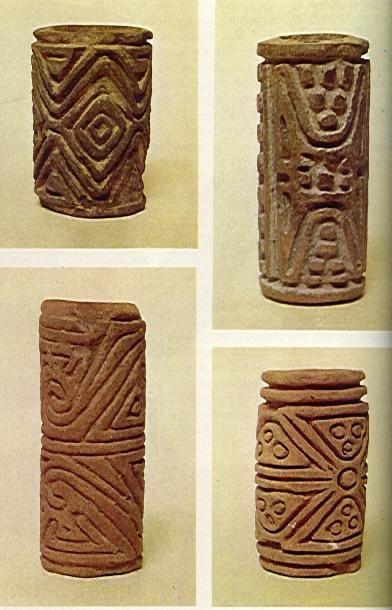 Rodillos Pintadores Cultura Quimbaya Arte Precolombino