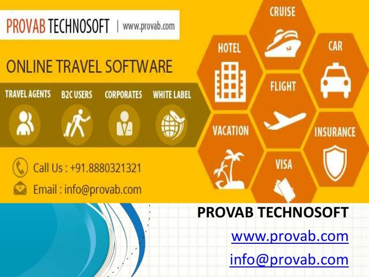 How to Choose Top Travel Software for Your Agency -  http://www.slideshare.net/provabtechnosoft/how-to-choose-top-travel-software-for-your-agency
