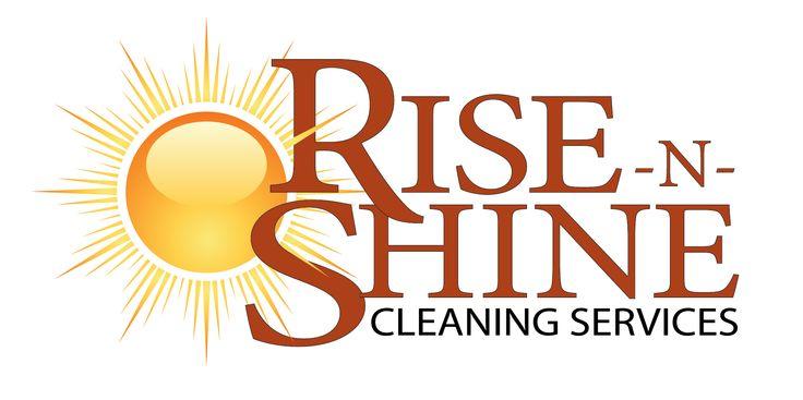 Rise N Shine Cleaning Services Logo Logos Pinterest