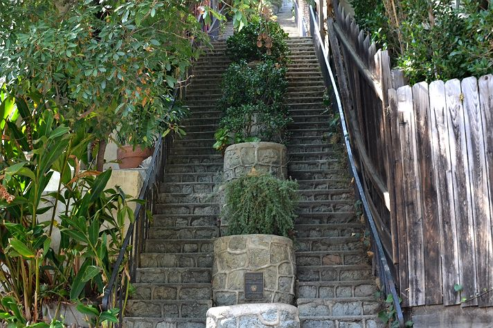 Hello Kitty Tapete Novi Sad : Discover Hidden Stairs Los Angeles