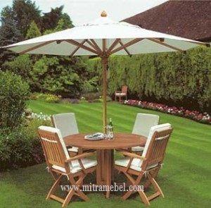 Kursi Taman Minimalis Terbaru Model Payung