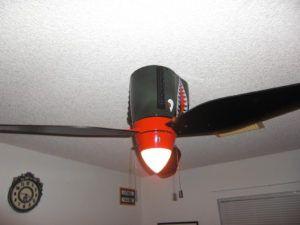 airplane propeller ceiling fan with light - Coole Deckenventilatoren Fr Kinder