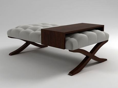 Christopher Guy Cocktail ottoman 3d model |  N/A