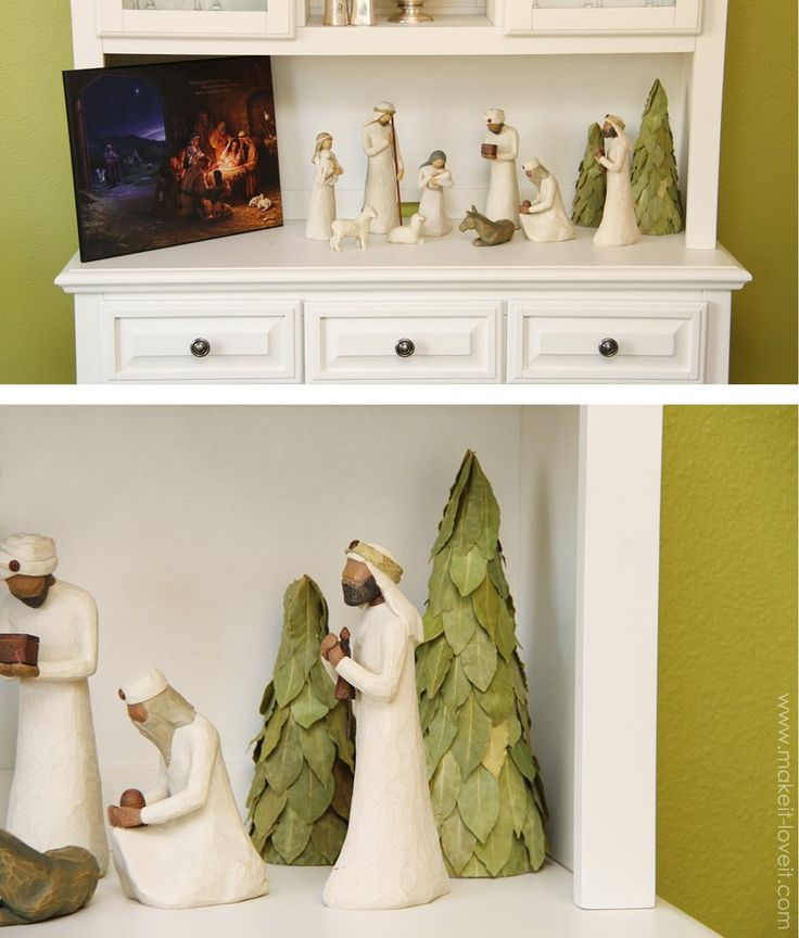 Christmas Tree Decorations Facebook: Simple Bay Leaf Christmas Tree Decoration