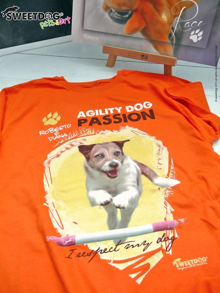 Dog: DIANA (Jack Russell Terrier) - Personalized T-Shirt - www.facebook.com/SweetDogStore