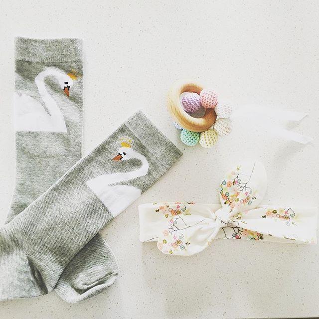 FAVOURITES! 😍 www.verdebaby.com.au #kneehighs #topknot #teethingbaby #organicbaby #trendykiddies #trendybaby #kidsofinstagram #babyfashion #babyshop #musthave #crochet #swanlake #instababy #instakids #cutest_kiddies #shopsmall #handmade