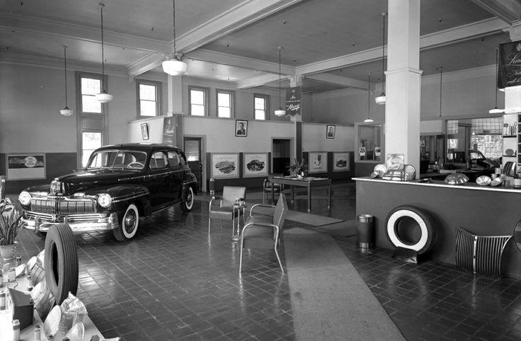 Mercury dealership circa 1947/48