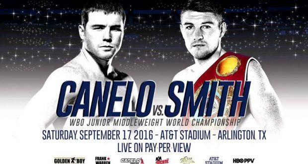 Canelo Alvarez vs Liam Smith Live
