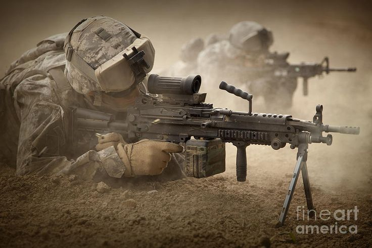 U.s. Army Ranger In Afghanistan Combat Photograph by Tom Weber