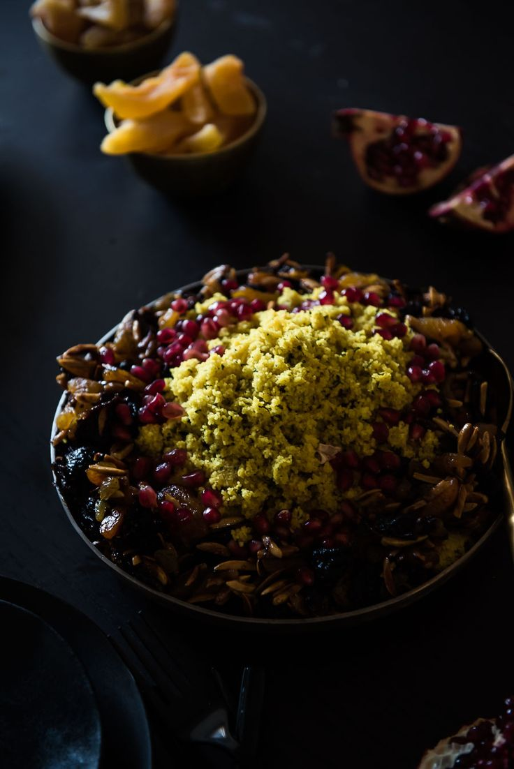 Olive Chicken Tajine with Dried Fruits Couscous / the kosher spoon