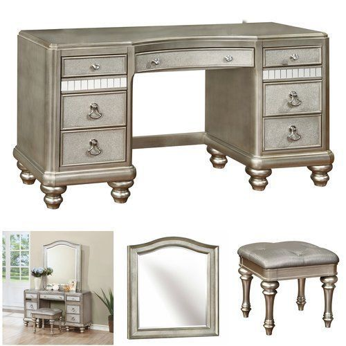 Vanity-Set-With-Mirror-Luxury-Silver-Makeup-Stool-Dressing-Table-Hollywood-Glam