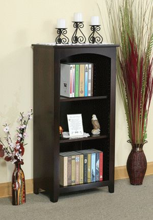 OFF Amish Furniture   Hand Crafted Shaker And Mission Furniture Online  Outlet Store: 24 X 48 Heirwood Bookcase: Oak
