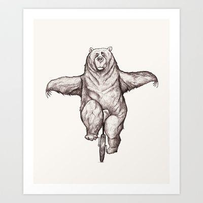 Balance Art Print by Dave Mottram - $17.68