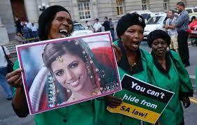 During the whole duration of the trial Anni and her family had support from all over South Africa and the murder case made a huge impact in South African crime history.